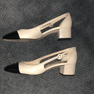 6cda821acee62 Sam Edelman Shoes - Sam Edelman Leah Two Tone Pumps